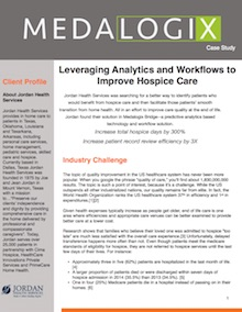 jordan home health hospice analytics case study image