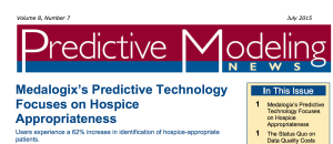 predictive modeling news july medalogix